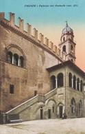 FAENZA (RAVENNA) CARTOLINA - PALAZZO DEL PODESTA (SEC. XII) - Faenza