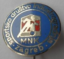 SPORTSKO DRUŠTVO INDUSTROGRADNJA MNK ZAGREB  CROATIA FOOTBALL CLUB, SOCCER / FUTBOL CALCIO PINS BADGES P4/1 - Football