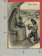 CARTOLINA VG ITALIA COLONIE LIBIA - BUON NATALE - Offerta Di Grano Alla Vergine Con Bambino Gesù - 10 X 15 - 1941 - Noël