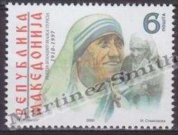 Macedonia 2000 Yvert 200, Tribute To Mother Teresa - MNH - Macedonia