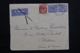 KENYA / OUGANDA - Enveloppe De Kilindini Pour La France En 1933, Affranchissement Plaisant - L 61444 - Kenya & Uganda