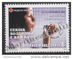 Macedonia 2004 Beneficience Yvert 103, Fight Against Tuberculosis - MNH - Macedonia