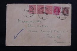 INDE - Enveloppe De Lalmonirhat Pour La France En 1938, Affranchissement Plaisant - L 61445 - 1936-47  George VI