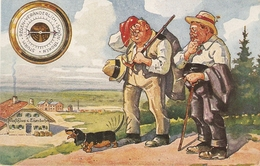 """""""Excurssionists. Without Words"""" Humorous Vintage German Postcard - Humour"""