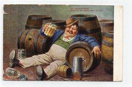 DC319 - Humor Motiv Bier Besoffener Herr - Humor