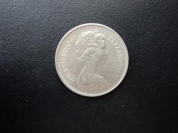 ROYAUME UNI : 5 NEW PENCE   1969    KM 911     SUP - 5 Pence & 5 New Pence