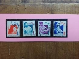 OLANDA Anni '40/'50 - Pro Infanzia Nn. 237/40 Timbrati + Spese Postali - Periode 1891-1948 (Wilhelmina)
