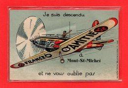 50-CPA LE MONT SAINT MICHEL - CARTE A SYSTEME DE 10 VUES DU MONT SAINT MICHEL - Le Mont Saint Michel