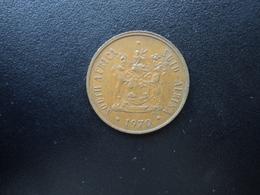 AFRIQUE DU SUD : 2 CENTS   1971    KM 83     TTB+ - Afrique Du Sud