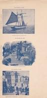 SAINT-PIERRE Et MIQUELON ,exceptionnel  Cartes Postales Avant Découpe ,un Bateau Armé Pour La Grande Peche .......... Et - Saint-Pierre-et-Miquelon
