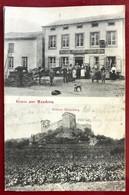MANDERN PRES SIERCK Wirtschaft Zur Post , Schloss Meinsburg  ( Ich Glaube Unten Am Rande Geschnitten ) - France
