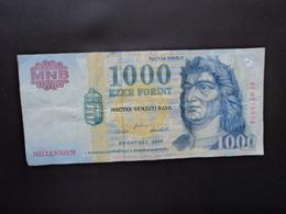 HONGRIE : 1000 FORINT   2000   P 185a     TTB - Hungría