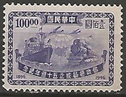CHINE / 1912-1949 REPUBLIQUE N° 596 NEUF Sans Gomme - Chine