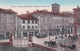 FERRARA - CARTOLINA - PIAZZA DELLA PACE - PALAZZO ARCIVESCOVILE - Ferrara