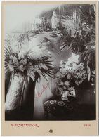 Post-mortem D'un Enfant. Par R Schüttringger Liège. Tirage Original Au Citrate D'époque 1895  FG1377 - Personnes Identifiées