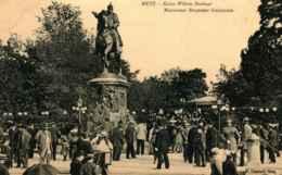 57 - *** RARE *** METZ - Monument Empereur Guillaume   *** Très Animée *** - Metz