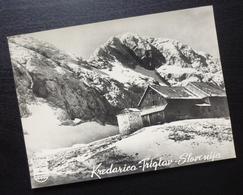 Slovenia KREDARICA TRIGLAV Yugoslavia PUTNIK Issue Card Mountain House Winter Nature B1 - Joegoslavië