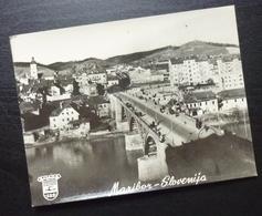 Slovenia MARIBOR Yugoslavia PUTNIK Issue Card City View Bridge B3 - Joegoslavië