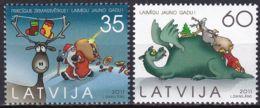 LETTLAND 2011 Mi-Nr. 822/23 ** MNH - Letonia