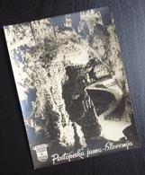 Slovenia POSTOJNSKA JAMA Yugoslavia PUTNIK Issue Card Cave Pit Postojna B4 - Joegoslavië