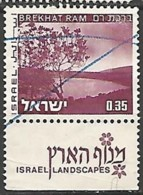 ISRAËL N° 534 OBLITERE AvecTabs - Usados (con Tab)