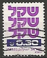 ISRAËL N° 774 OBLITERE Sans Tabs - Israel
