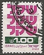 ISRAËL N° 778 OBLITERE Sans Tabs - Israel