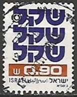 ISRAËL N° 799 OBLITERE Sans Tabs - Israel