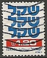 ISRAËL N° 827 OBLITERE Sans Tabs - Israel
