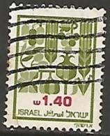 ISRAËL N° 828 OBLITERE Sans Tabs - Israel