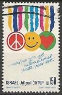 ISRAËL N° 954 OBLITERE Sans Tabs - Israel