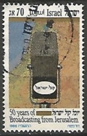 ISRAËL N° 973 OBLITERE Sans Tabs - Israel