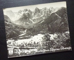 Slovenia MARTULJKOVA SKUPINA Yugoslavia PUTNIK Issue Card View Nature Mountain B6 - Joegoslavië
