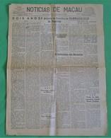 Macau - Jornal Notícias De Macau, Nº 1854, 25 Novembro De 1953 - Imprensa - Macao - China - Portugal - General Issues