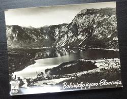 Slovenia BOHINJSKO JEZERO Yugoslavia PUTNIK Issue Card Bohinj Lake B8 - Joegoslavië