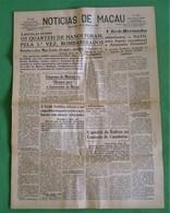 Macau - Jornal Notícias De Macau, Nº 5969, 30 Outubro De 1967 - Imprensa - Macao - China - Portugal - General Issues