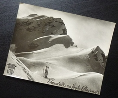 Slovenia VOGEL Yugoslavia PUTNIK Issue Card Smucisce Winter Nature Skiing B9 - Joegoslavië