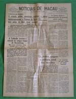 Macau - Jornal Notícias De Macau, Nº 5970, 31 Outubro De 1967 - Imprensa - Macao - China - Portugal - General Issues
