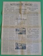 Macau - Jornal Notícias De Macau, Nº 5971, 1 Novembro De 1967 - Imprensa - Macao - China - Portugal - General Issues