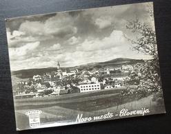 Slovenia NOVO MESTO Yugoslavia PUTNIK Issue Card City View B11 - Joegoslavië