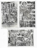 Vals Rare Eglise De Vals Près Mirepoix Fresques Lot De 3 Cartes Différentes - France