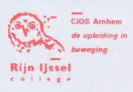 Meter Top Cut Netherlands 2001 Bird - Owl - Vogels