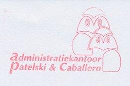 Meter Cut Netherlands 2002 Bird - Owl - Vogels