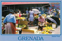1 AK Grenada * Der Marktplatz In Der Hauptstadt St. George's * - Grenada