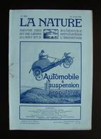 La Nature Rivista Francese N. 2456 30 Av 1921 L'Automobile Suspension Propulsive - Books, Magazines, Comics