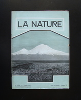 La Nature Rivista Francese N. 2764 1 Juillet 1927 Terremoto Armenia - Books, Magazines, Comics