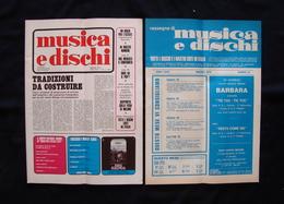 Musica E Dischi 1972 Rivista E Rassegna Mina Deep Purple Gabriella Ferri - Books, Magazines, Comics