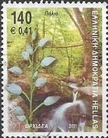 GREECE 2001 Flora And Fauna - 140d - Orchid FU - Gebraucht