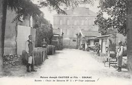 COGNAC ( 16 ) - Maison GAUTIER Et Fils  - Entrée - Chais De Réserve No3 - Cognac