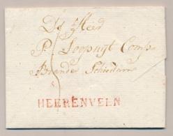 Nederland - 1818 - Complete Vouwbrief Van HEERENVEEN Naar Schiedam - Nederland